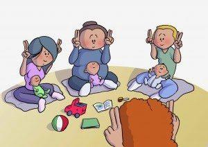 Atelier bébé signe